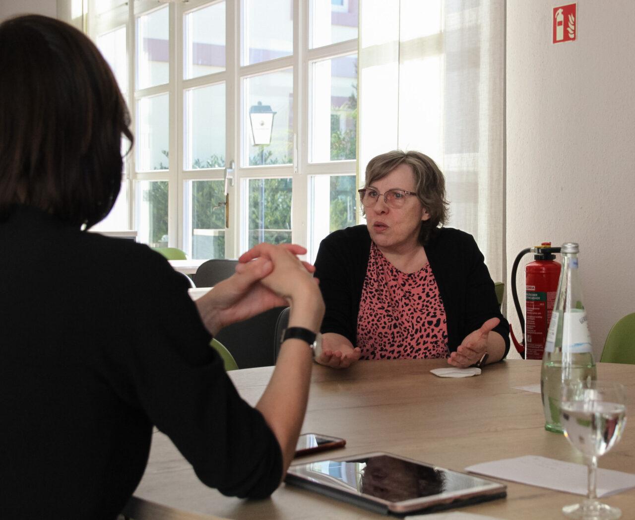 Im Gespräch mit Frau Güse, DEHOGA Vorsitzende